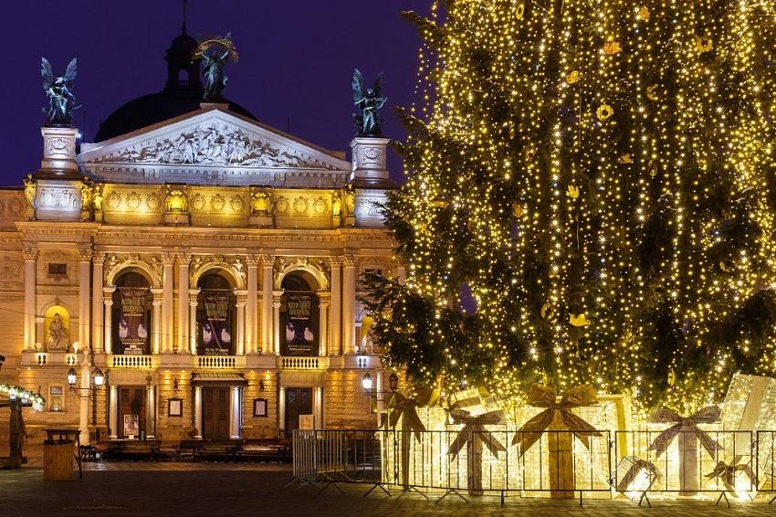 На Різдво до Львова. Куди піти? Програма святкувань.